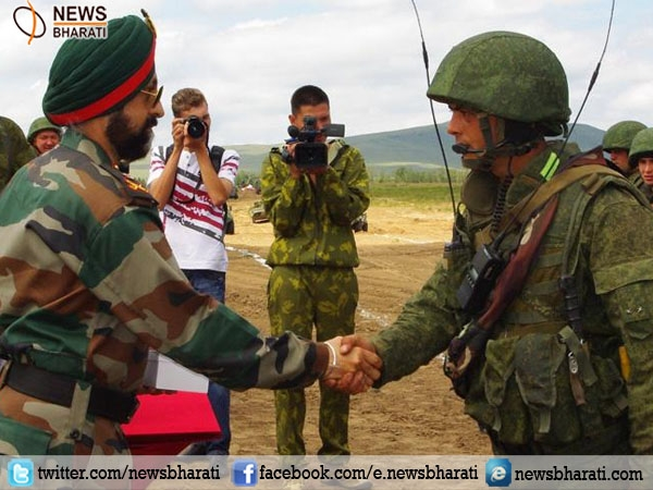India-Russia joint maneuvers soon to hold trilateral exercise