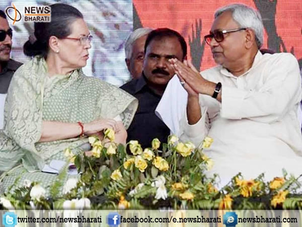 Nitish Kumar meets Sonia Gandhi; urges for 'Mahagathbandhan' at national level