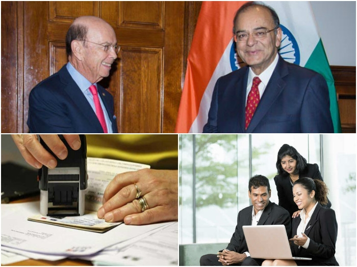 Jaitley strongly raises H1B visa issue; reminds contribution of highly skilled Indians in US economy