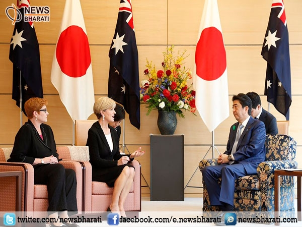 Australian Foreign Minister visits Japan to strengthen their bond amid N.Korea tension
