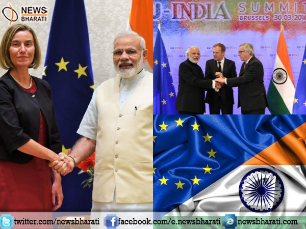 India-EU to strengthen ties in many areas, mainly counter-terrorism