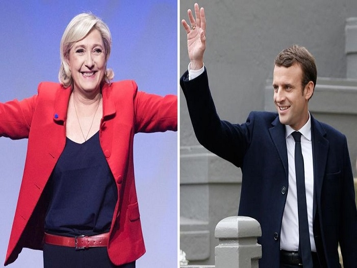 Le Pen, Macron through to run-off in French Presidential elections
