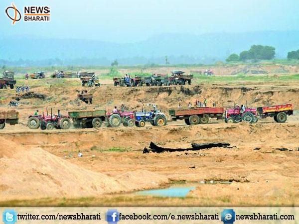 #MadhyaPradesh govt bans #SandMining in #Narmadariver