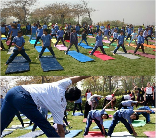 India's Embassy launched yoga courses in Egypt to explore and propagate the benefits of Yoga