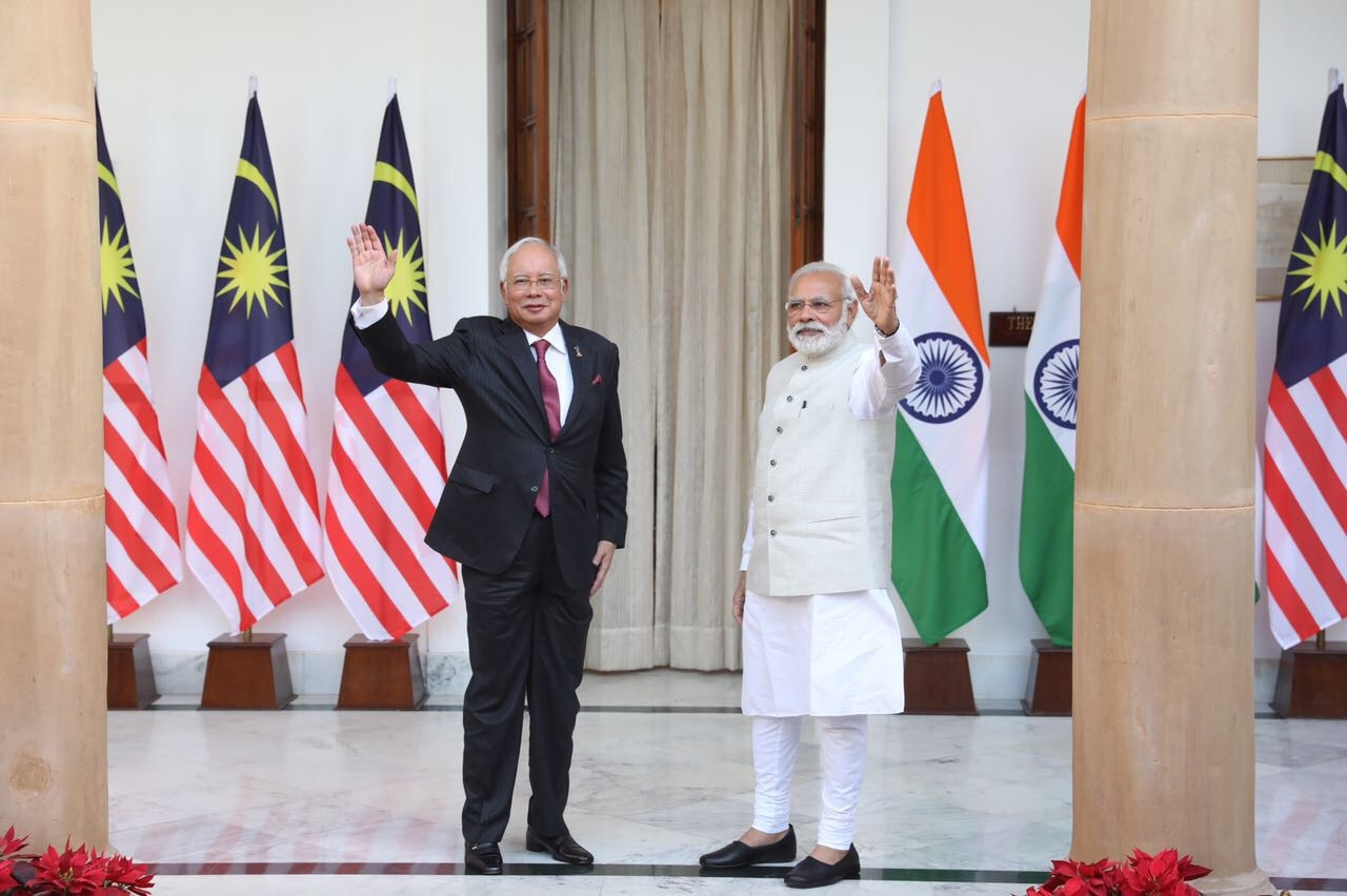 Relationship between India and Malaysia is currently at a historic high: Malaysian PM