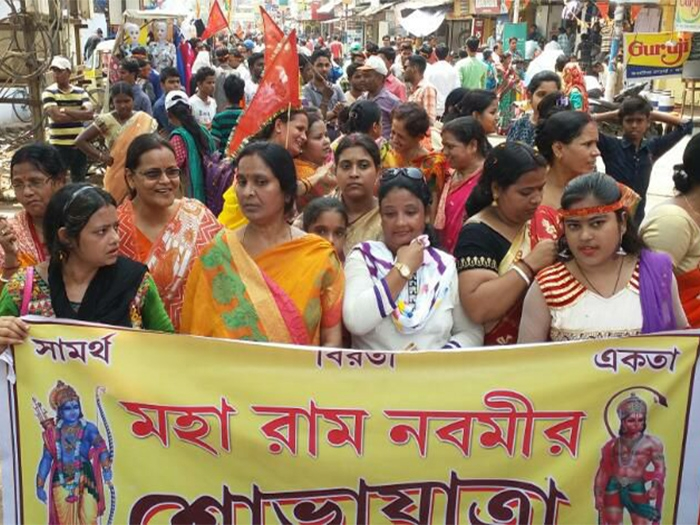 Unprecedented Ram Navami celebrations paint West Bengal in Saffron