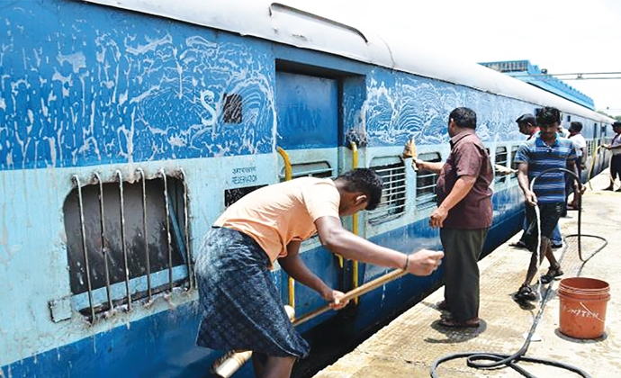 Indian Railways take initiatives to improve sanitation for commuters