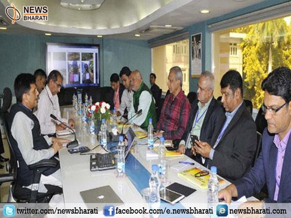 Delegation of Senior Editors and Journalists from Bangladesh calls on Union Power Minister