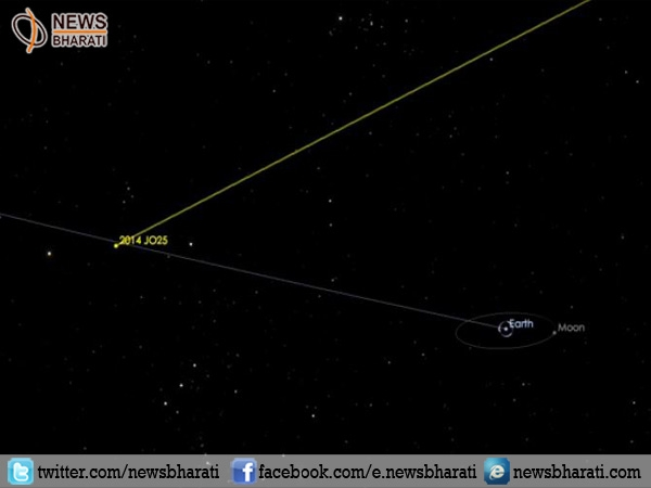 After 400 years, Asteroid 2014 JO25 will pass Earth on April 19