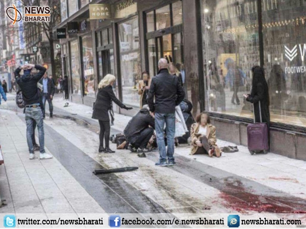 #SwedenTruckAttack: 2 arrested, 4 killed so far