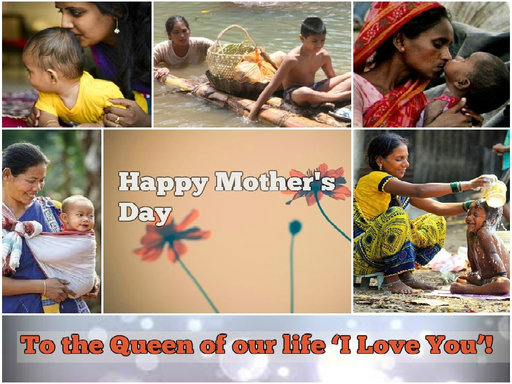 I Love You! To the 'Army' of our life for protecting, loving unselfishly; your child thanks you 'Mom'