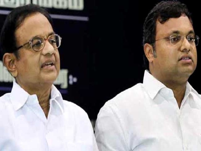 Karti Chidambaram, others booked on cheating, corruption charges