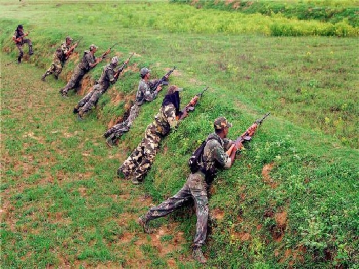 CRPF jawans eliminate 20 Maoists in Chhattisgarh