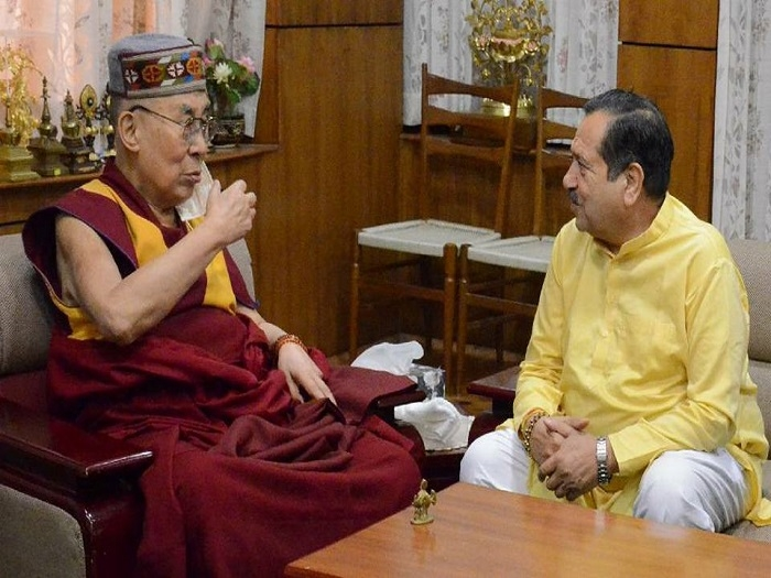 Dalai Lama, Indresh Kumar share concern over Tibet issue
