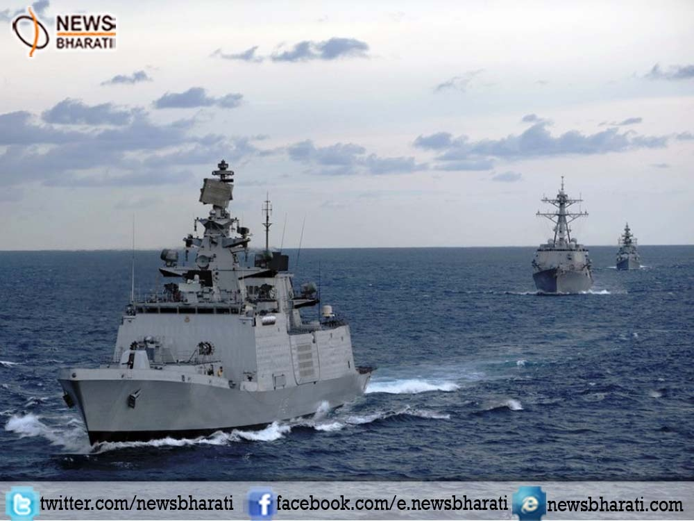 India, Singapore naval exercise 'Simbex-17' kicks off in South China Sea
