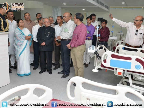 Pranab Mukherjee inaugurates Indian Institute of Liver and Digestive Sciences in West Bengal