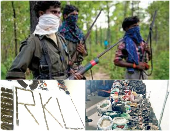CRPF personnel and police destroyed Maoist camp in Odisha, seized 200 live bullets and explosives