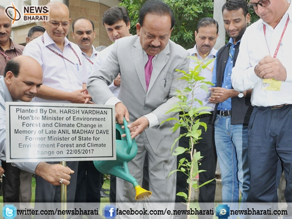 HarshVardhan takes additional charge as Environment Minister; urges people to participate in 'save environment'
