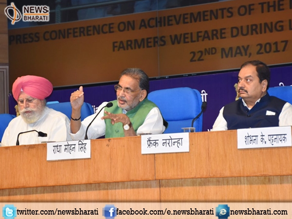 Food grain output broke all records; goal of doubling farmers' income on its way: Radha Mohan on #3SaalBemisal