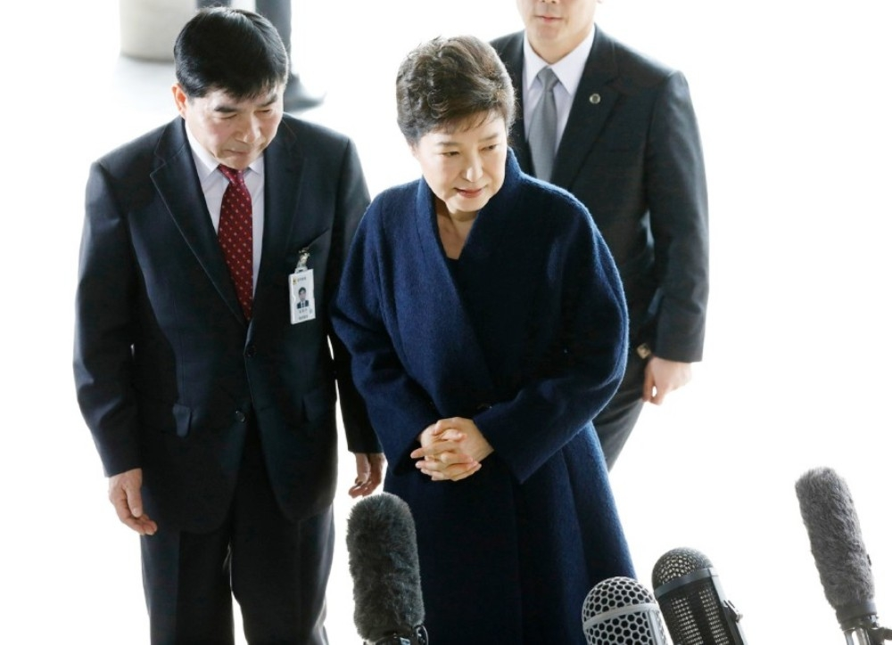 S.Korea's then Prez Park Geun-Hye went on trial for massive corruption scandal