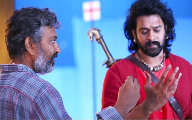 Thank you Rajamauli garu for the gigantic role of Baahubali : Prabhas
