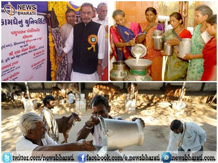 Gir Cow sanctuary approved under 'Rashtriya Gokul Mission' to double the economy of Gujarat