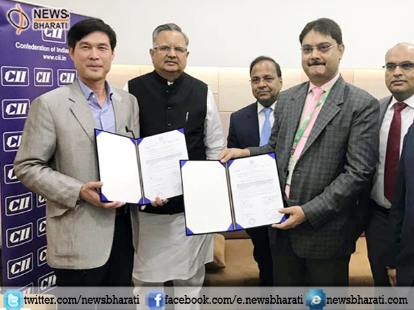 Chhattisgarh, S Korean Company sign pact for setting up mobile manufacturing unit in Raipur