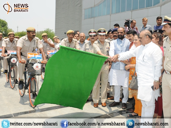 'Bicycle Patrols' launched by Delhi Police to stop crime in inaccessible area
