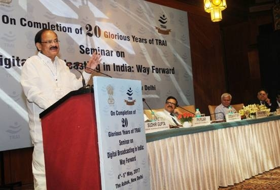 GST will be the game changer for media and broadcasting : M Venkaiah Naidu