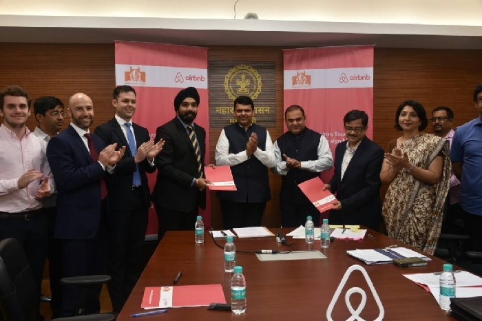 Maharashtra government ties up with Airbnb to attract international tourists