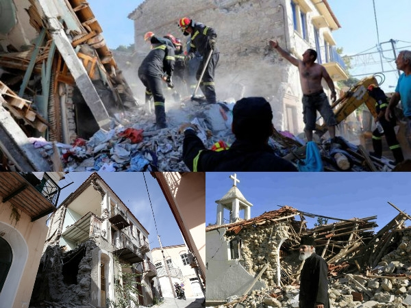 Aegean earthquake shakes buildings in Greece and Turkey; one dead and several injured
