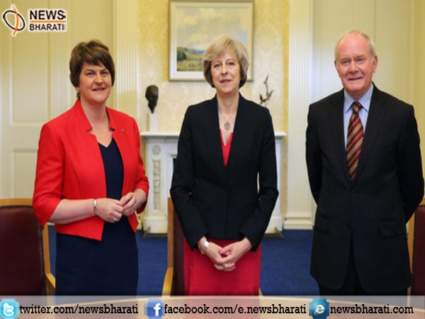 DUP leader Arlene Foster to meet PM Theresa May on governmental deal