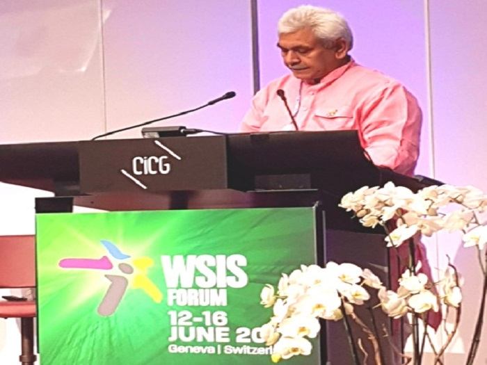 ICT is key to promoting inclusive development in India: Manoj Sinha