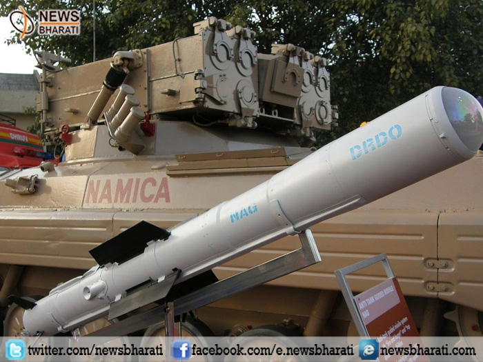 Major boost to Indian security forces armoury; DRDO test fires Anti-tank Guided Missile 'Nag'