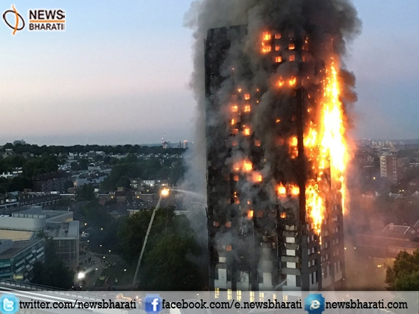 Flames engulf Grenfell Tower in London; police look for suspected ISIS links