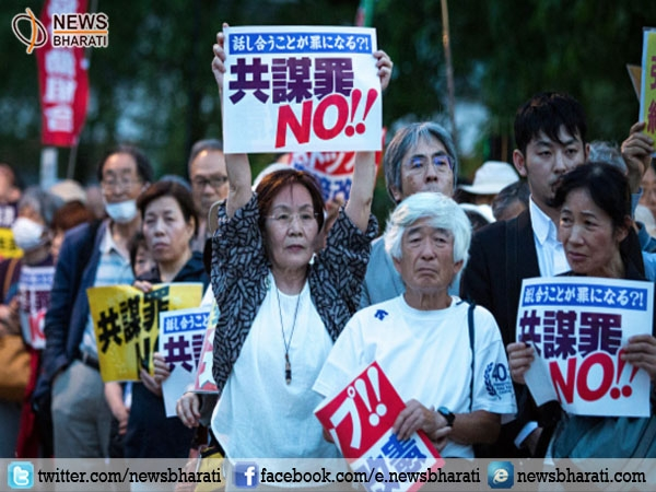 Japan passes 'Conspiracy' law enacting punishment for plotting crimes despite nationwide opposition