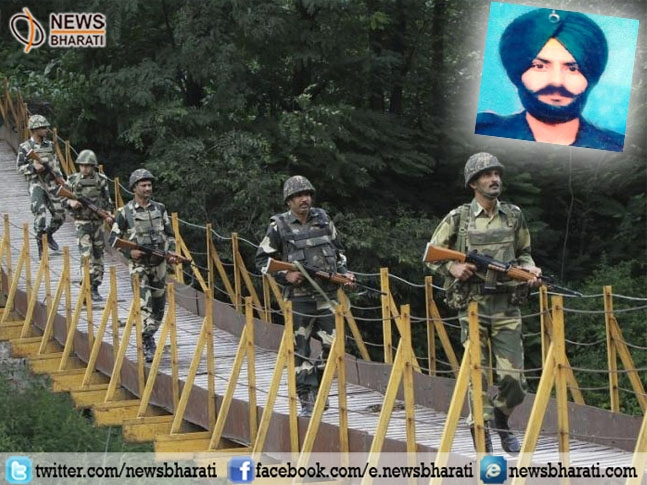 Naik Bakhtawar Singh martyred in unprovoked ceasefire violation by Pakistan in Naoshera sector