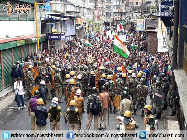 Again clash between Morcha supporters and security force; Darjeeling is on fire