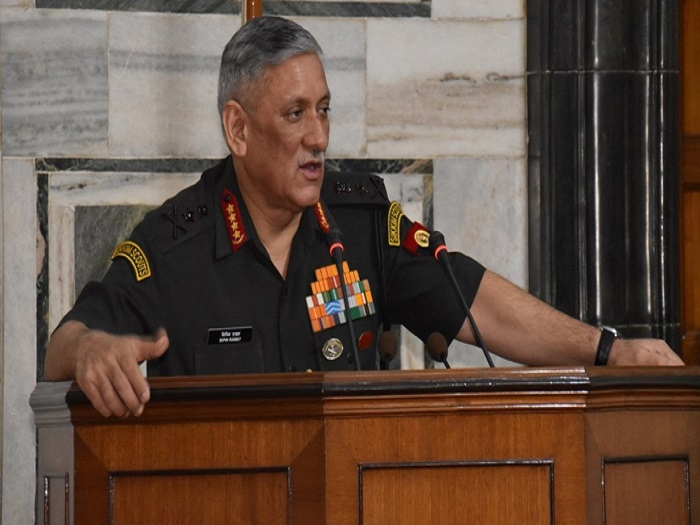 Indian army believes in human rights: asserts Army Chief Gen Rawat