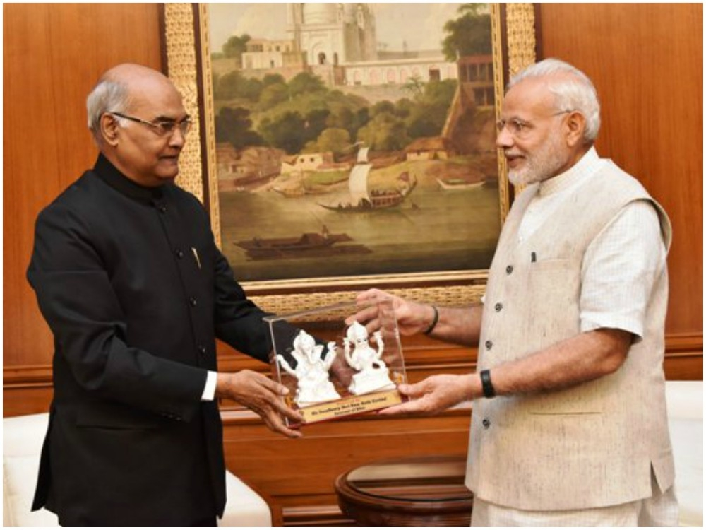 This is why a Diplomat and Constitutional expert #RamnathKovind is BJP Prez candidate; Modi supports