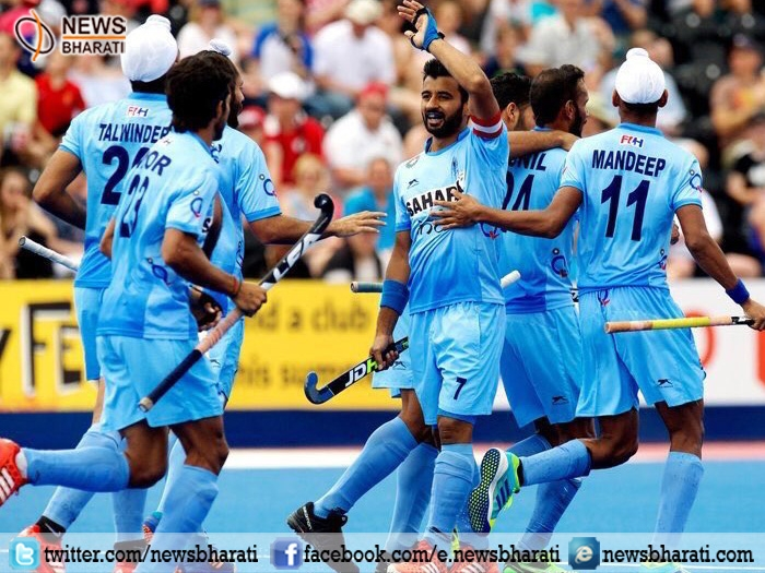 Indian hockey team paid homage to martyrs at the Hero Hockey World League; crushes Pak by 7-1