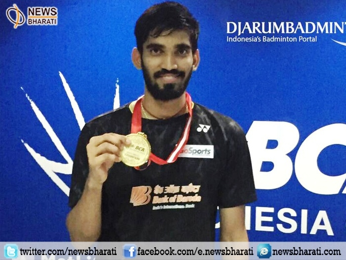 Kidambi Srikanth outclassed Kazumasa Sakai in finals to bag maiden #IndonesiaOpen title