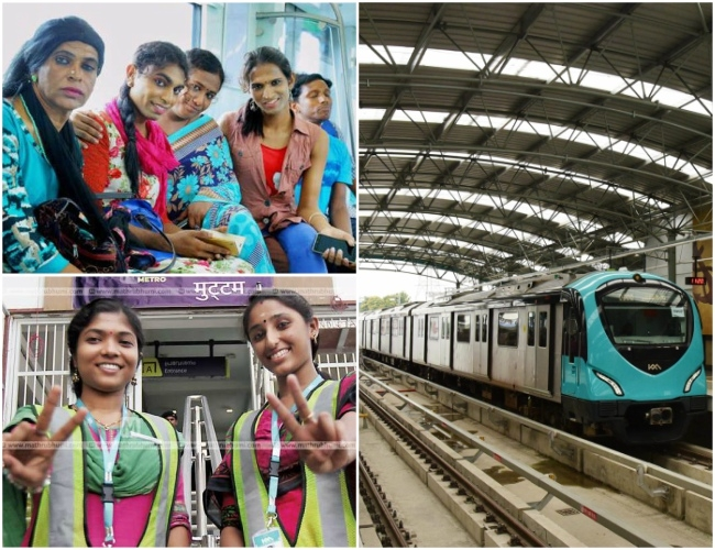 It is more than 'Equality! Honored to have 'Women' & 'Transgenders' to 'Run' Kochi Metro Railway