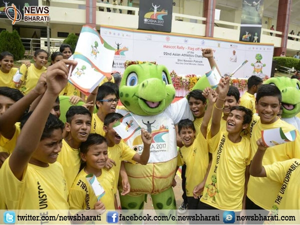 With 'Olly' sea-turtle, Odisha set to host Mega Sports event- Asian Athletics Championship 2017