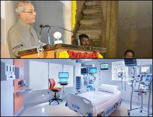 Prez Mukherjee unveiled Super Specialty Hospital to enhance quality health life of Udupi people