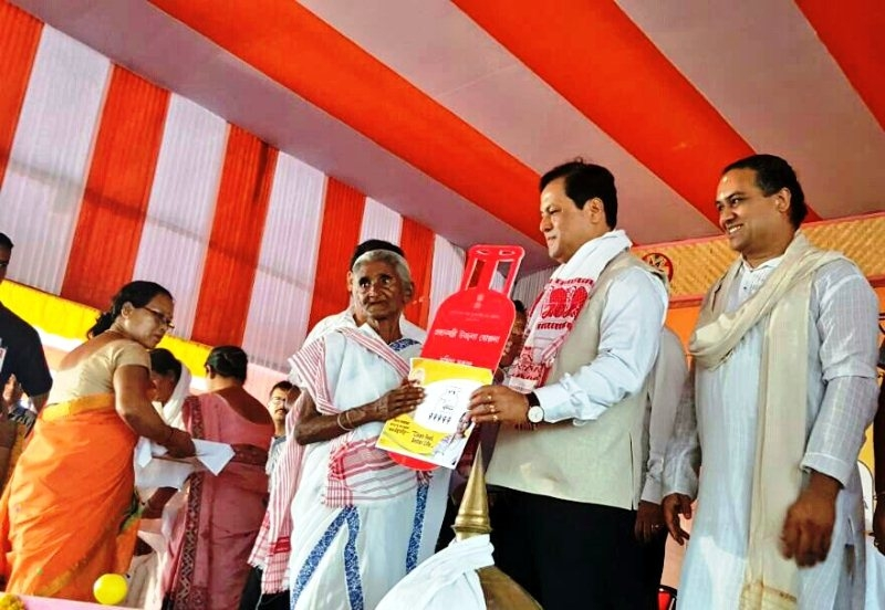 Rural women to be provided with Swachh & Safe environment under PM Ujjwala Yojana: Assam CM