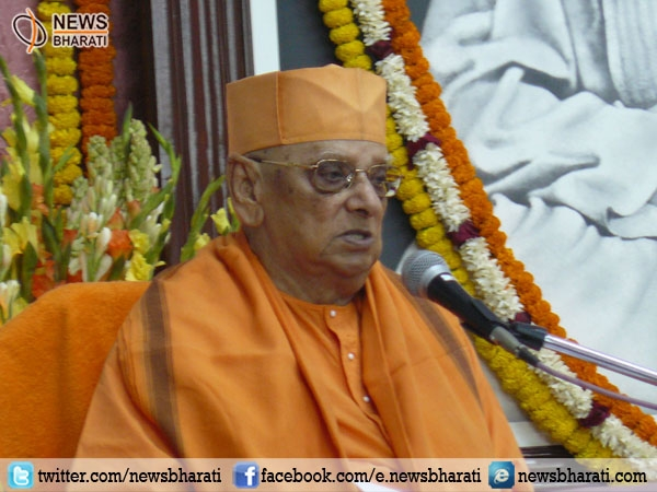 Swami  Atmasthananda ji leaves the physical world; PM Modi condoles the demise