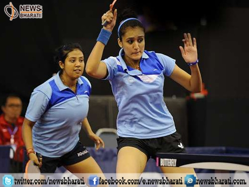 World TT Championships: Mouma-Manika becomes first Indian pair to reach quarters