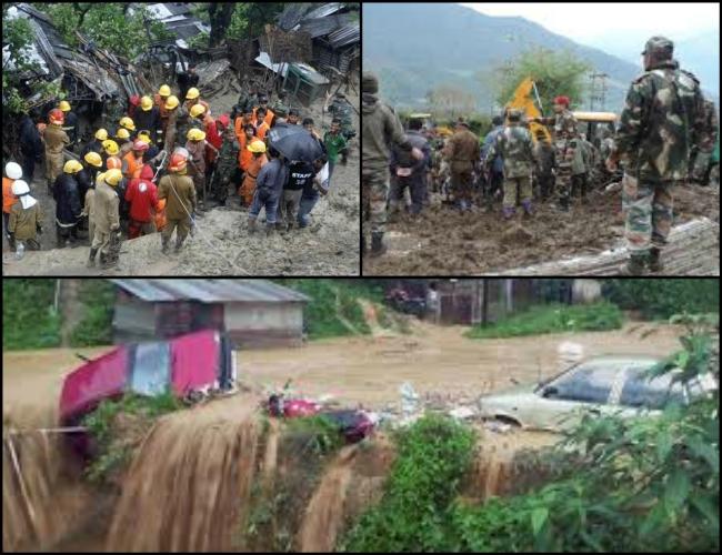 NE still severe under 'heavy' rainfall: Indian Army rescued 200 civilians in Arunachal Pradesh