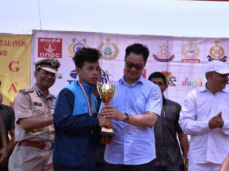 Sikkim boys, Assam girls lifts victory trophy: 'Oorja' Football Talent Hunt Tournament 2017